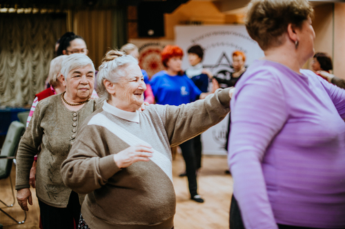 Older people get to meet friends and dance at the jewish community centre listing