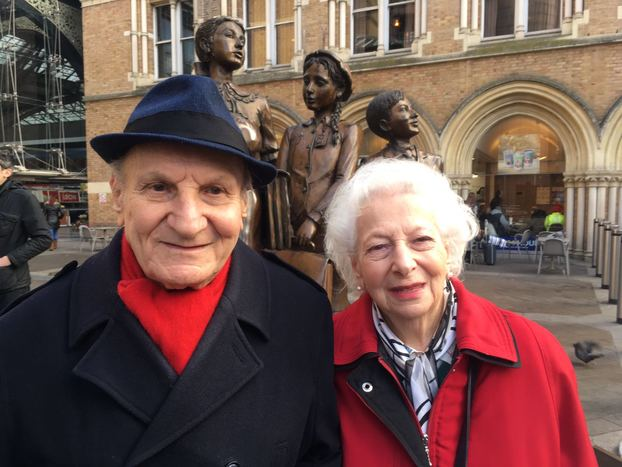 kindertransport, siblings Harry Heber and Ruth Jacobs